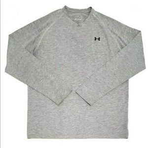 Under Armour Loose Heat Gear Long Sleeve Crew Neck